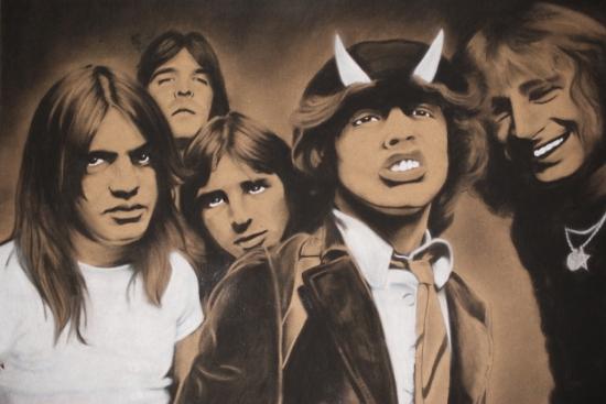 AC/DC par DOM